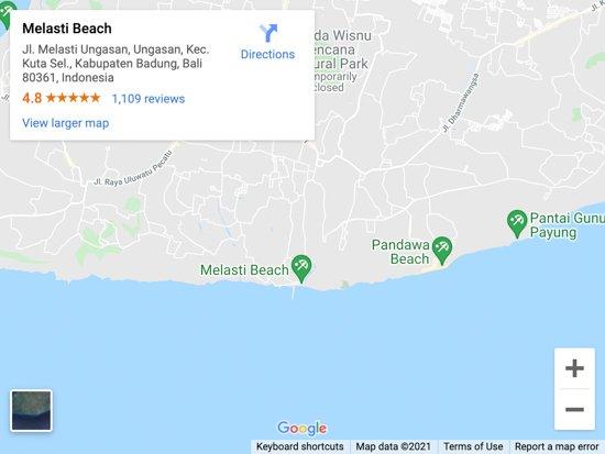 melasti beach 1