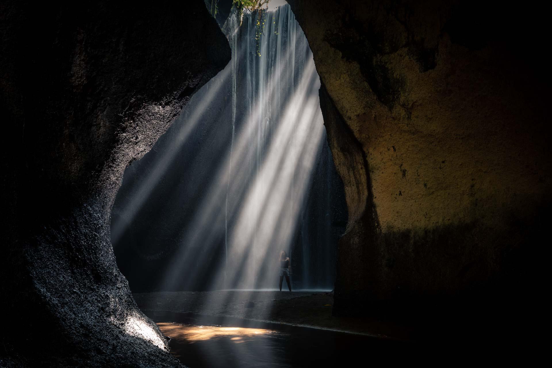 tukad cepung waterfall 8